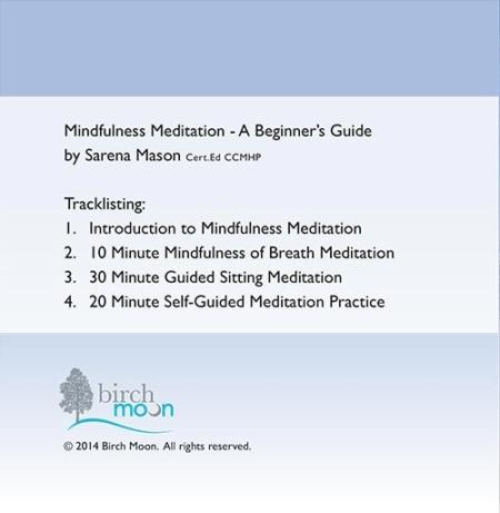 Mindfulness Meditation CD back