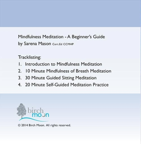 Mindfulness Meditation CD back